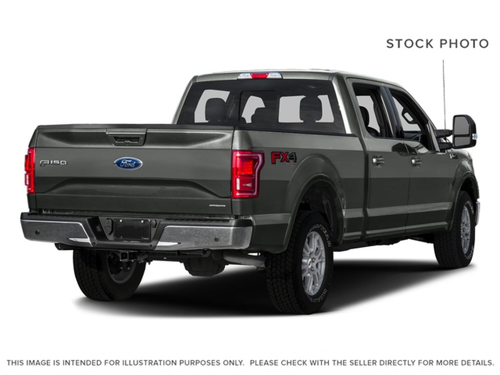 Maroon 2016 Ford F-150 Right Rear Corner Photo in Fort Macleod AB