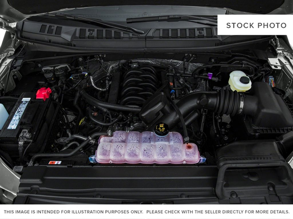 Maroon 2016 Ford F-150 Engine Compartment Photo in Fort Macleod AB