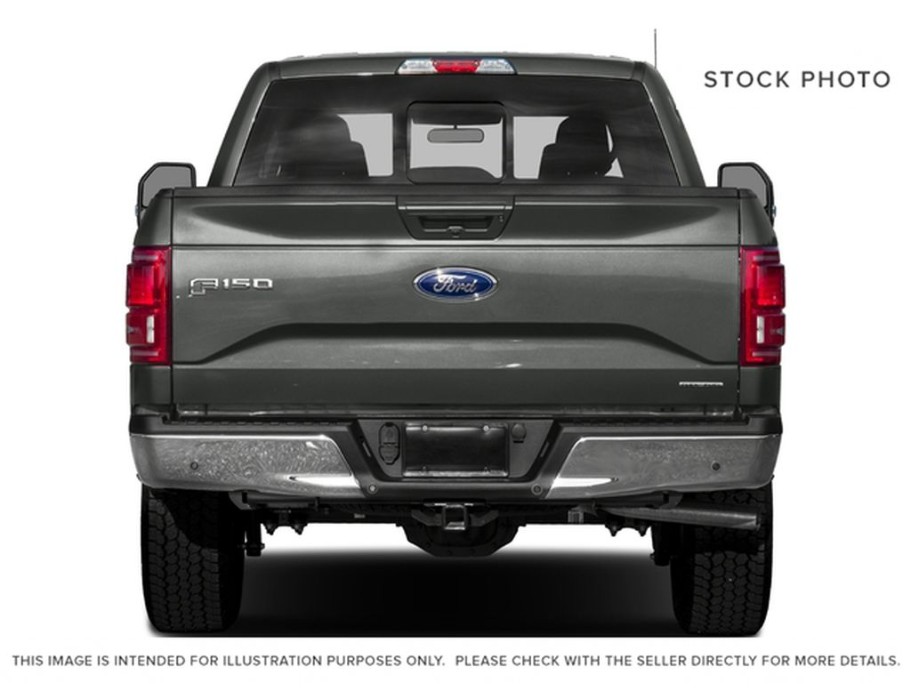 Maroon 2016 Ford F-150 Rear of Vehicle Photo in Fort Macleod AB