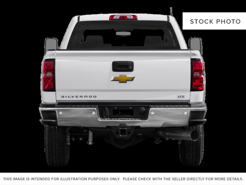 White[Summit White] 2016 Chevrolet Silverado 2500HD Rear of Vehicle Photo in Fort Macleod AB