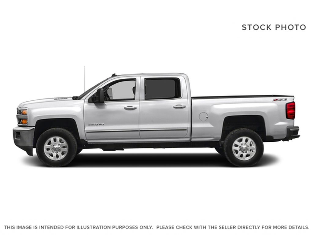 White[Summit White] 2016 Chevrolet Silverado 2500HD Left Side Photo in Fort Macleod AB