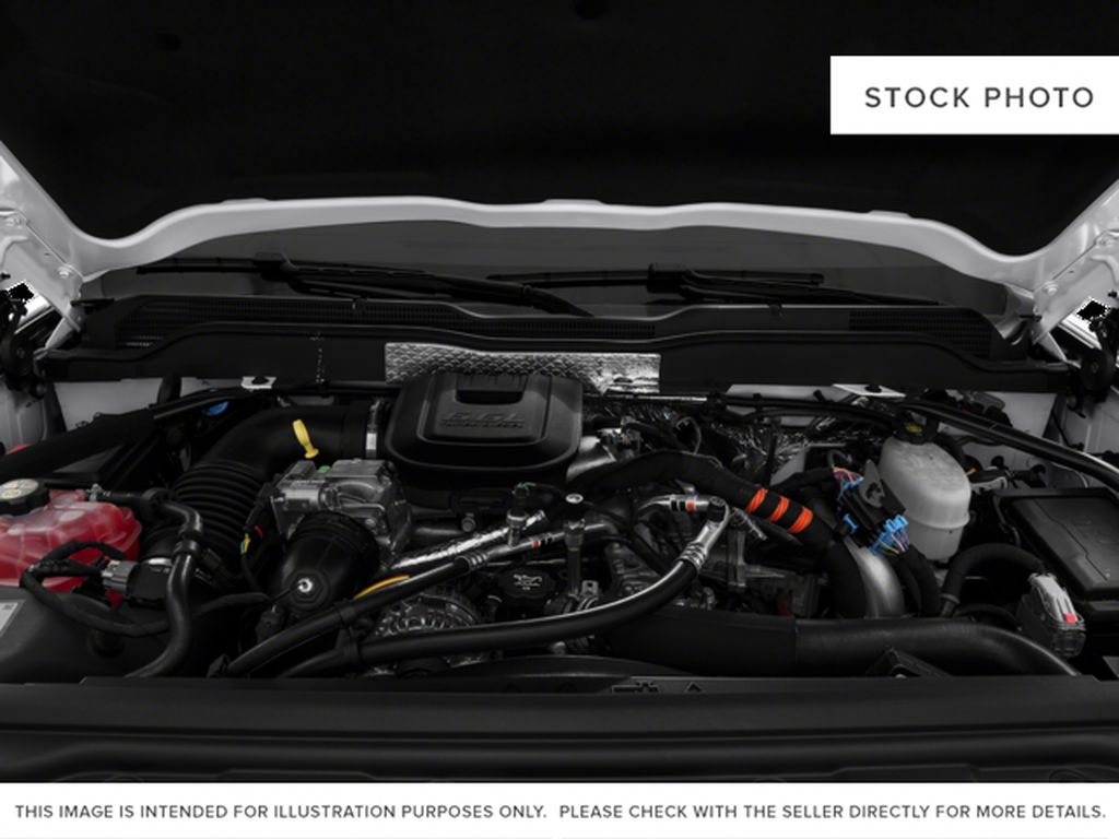 White[Summit White] 2016 Chevrolet Silverado 2500HD Engine Compartment Photo in Fort Macleod AB