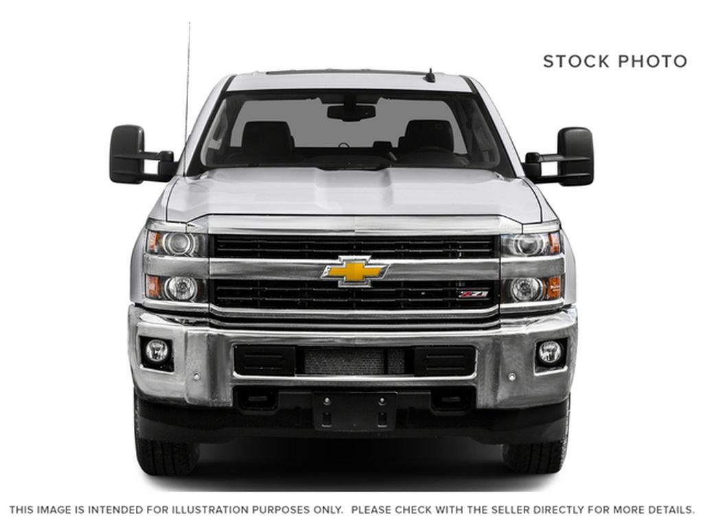 White[Summit White] 2016 Chevrolet Silverado 2500HD Front Vehicle Photo in Fort Macleod AB