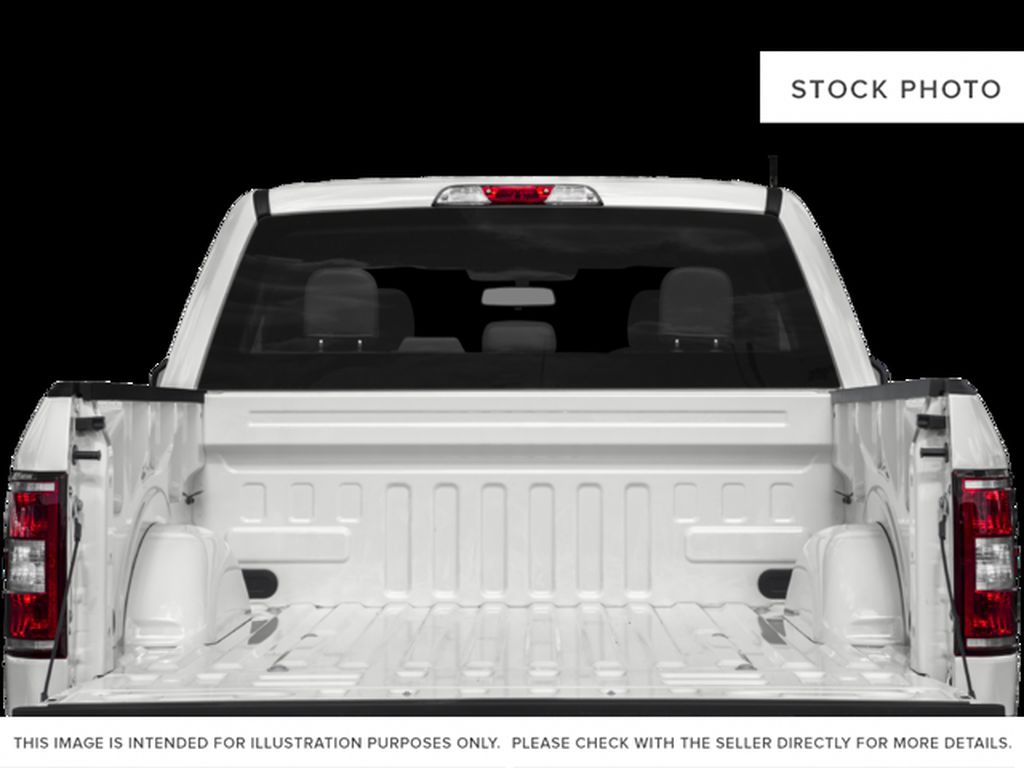 White[Oxford White] 2018 Ford F-150 Trunk / Cargo Area Photo in Fort Macleod AB