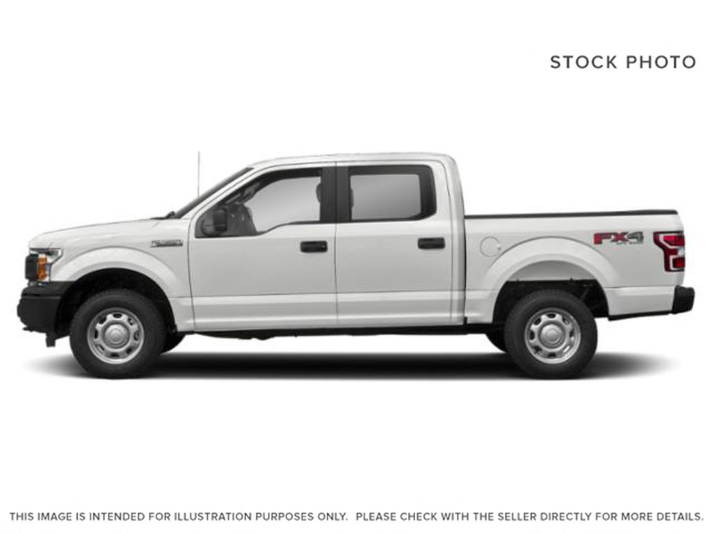White[Oxford White] 2018 Ford F-150 Left Side Photo in Fort Macleod AB