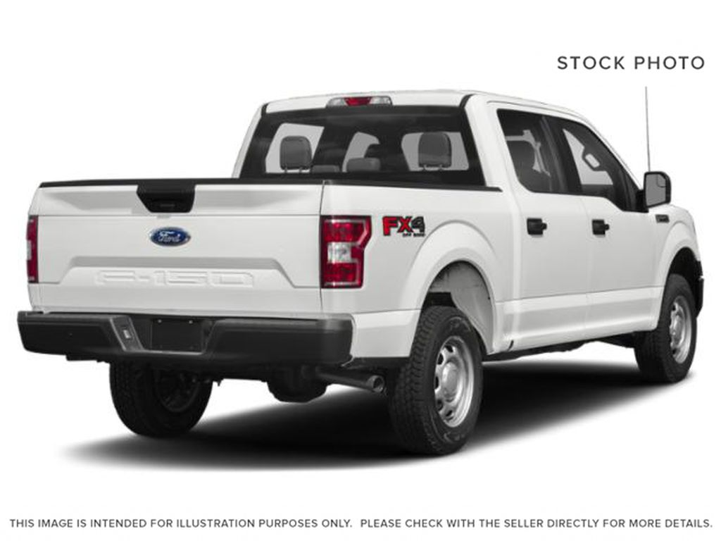 White[Oxford White] 2018 Ford F-150 Right Rear Corner Photo in Fort Macleod AB