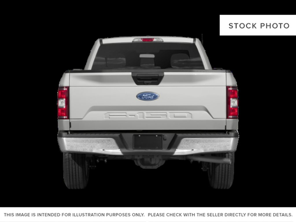 White[Oxford White] 2018 Ford F-150 Rear of Vehicle Photo in Fort Macleod AB