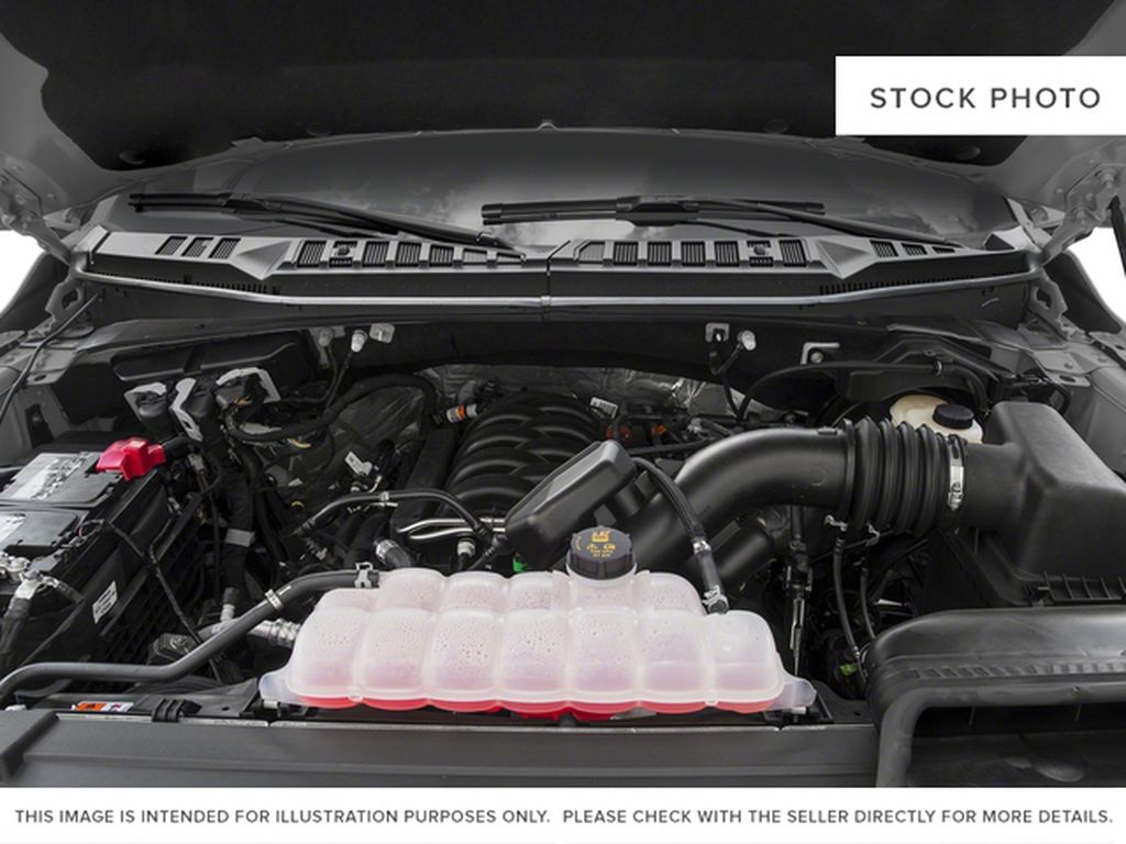 White[Oxford White] 2018 Ford F-150 Engine Compartment Photo in Fort Macleod AB