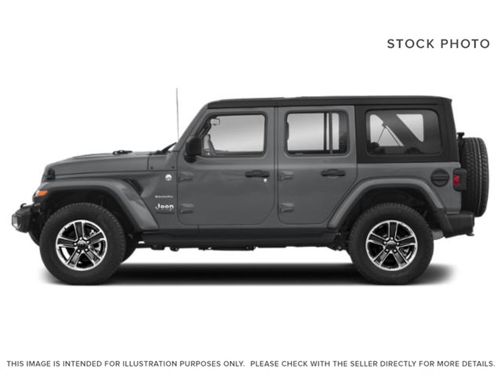 Silver[Billet Silver Metallic] 2020 Jeep Wrangler Unlimited Left Side Photo in Fort Macleod AB