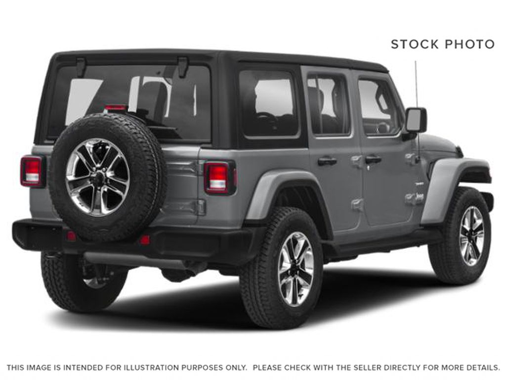 Silver[Billet Silver Metallic] 2020 Jeep Wrangler Unlimited Right Rear Corner Photo in Fort Macleod AB
