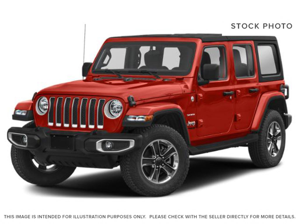 Red[Firecracker Red] 2020 Jeep Wrangler Unlimited