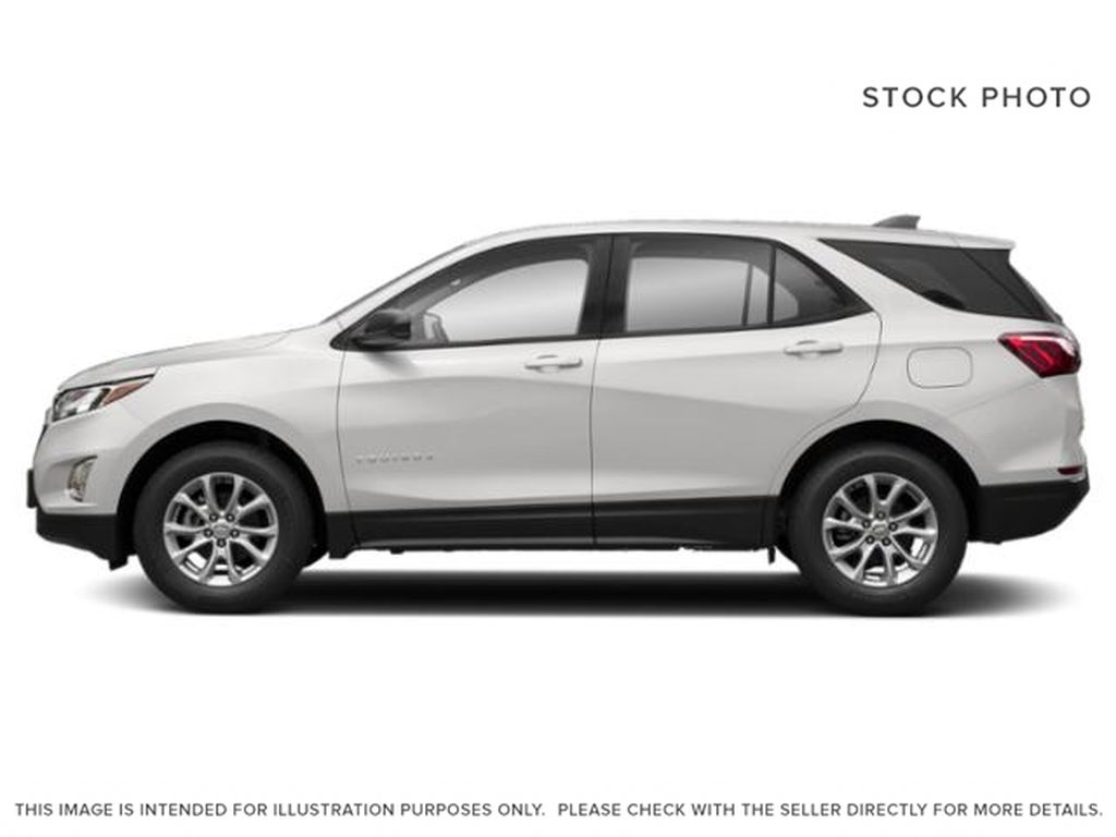 White[Summit White] 2018 Chevrolet Equinox Left Side Photo in Fort Macleod AB