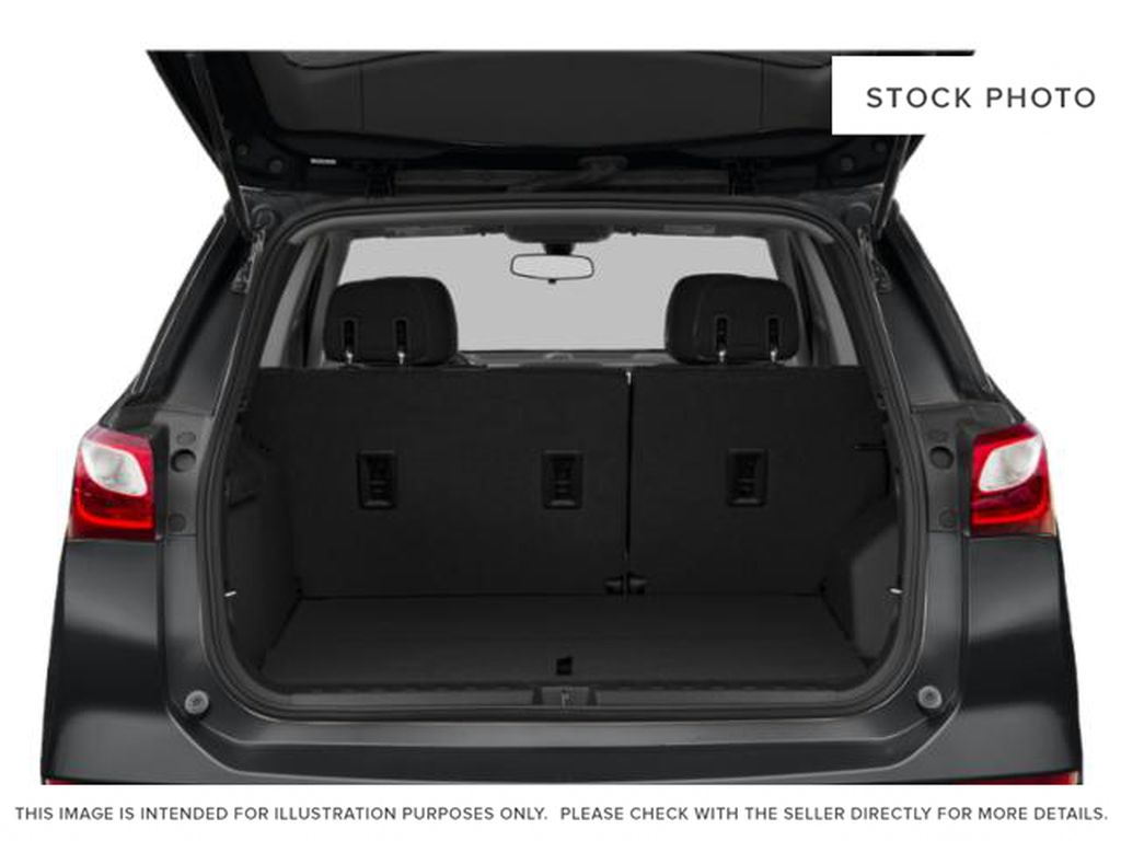White[Summit White] 2018 Chevrolet Equinox Trunk / Cargo Area Photo in Fort Macleod AB