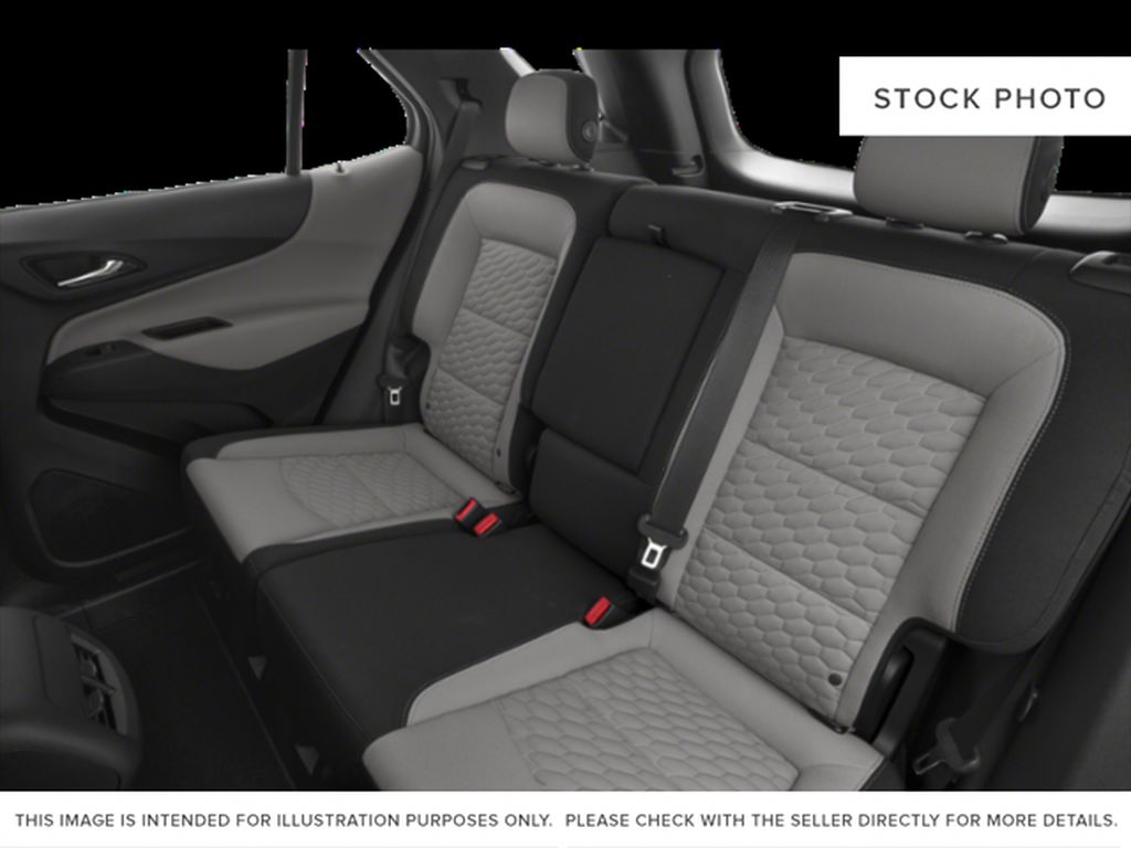 White[Summit White] 2018 Chevrolet Equinox Left Side Rear Seat  Photo in Fort Macleod AB