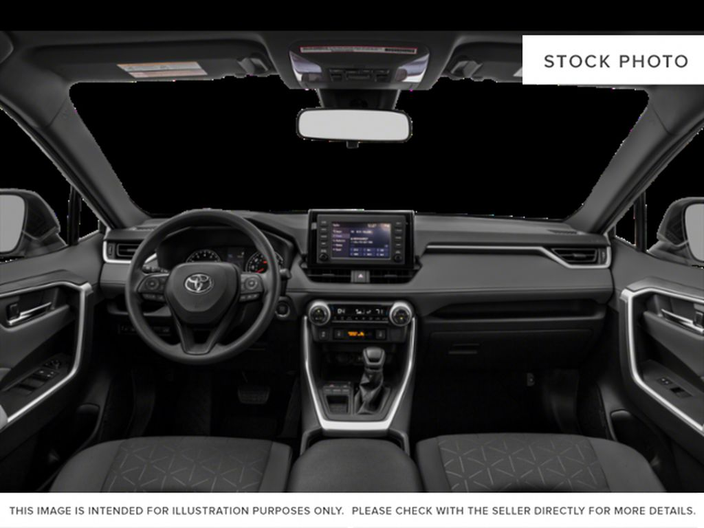 Gray[Magnetic Grey Metallic] 2021 Toyota RAV4 Front Seats and Dash Photo in Beverly Hills NU