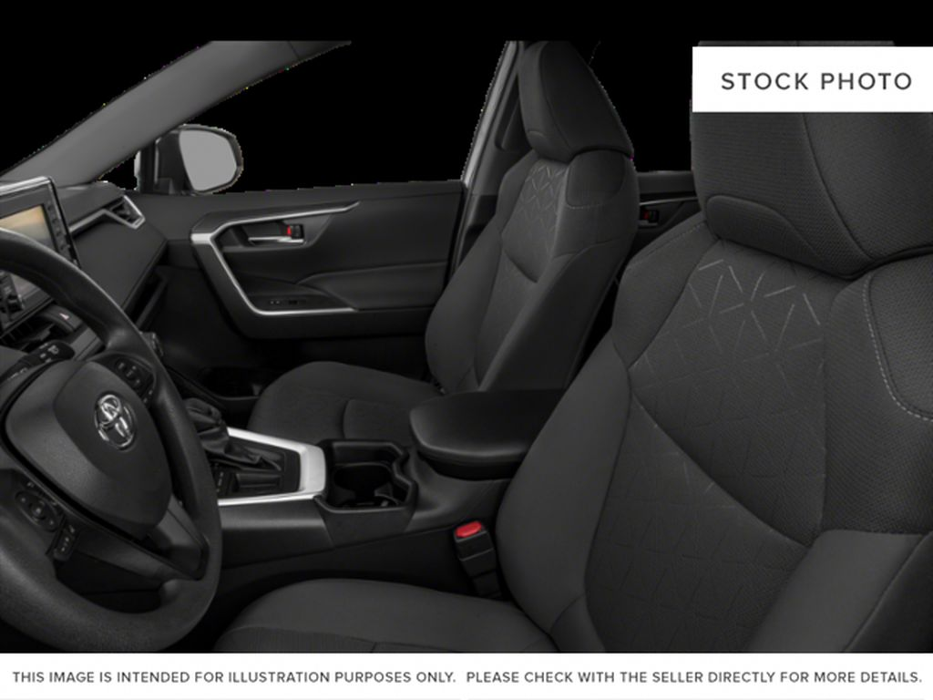 Gray[Magnetic Grey Metallic] 2021 Toyota RAV4 Left Front Interior Photo in Beverly Hills NU