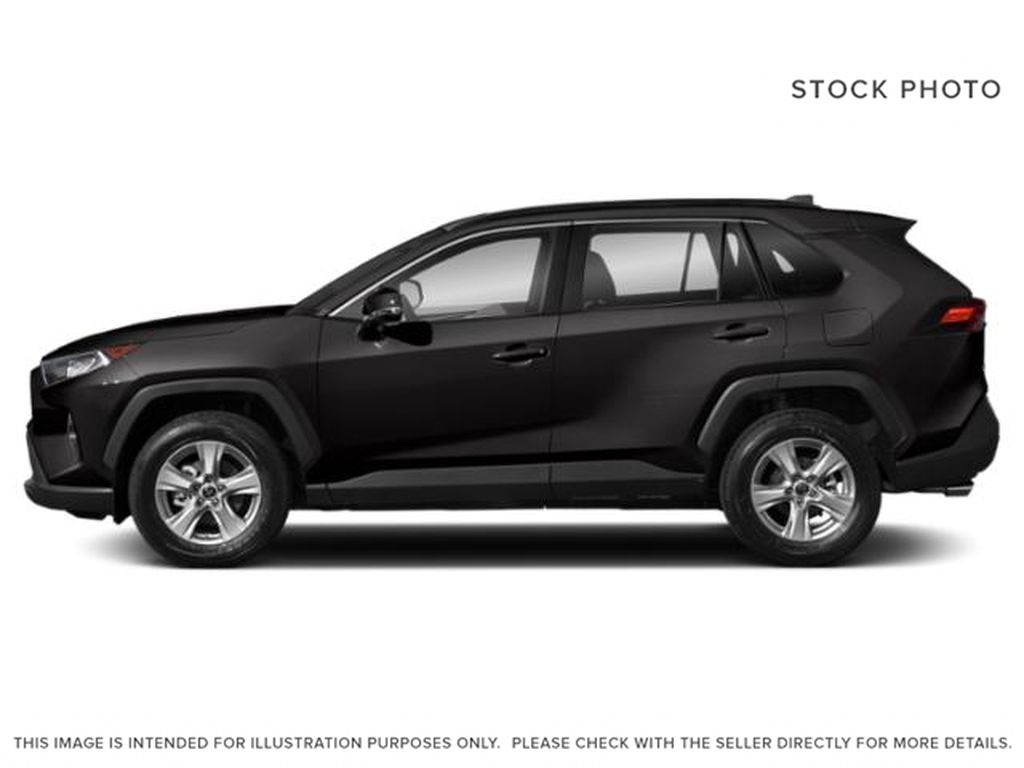 Gray[Magnetic Grey Metallic] 2021 Toyota RAV4 Left Side Photo in Beverly Hills NU