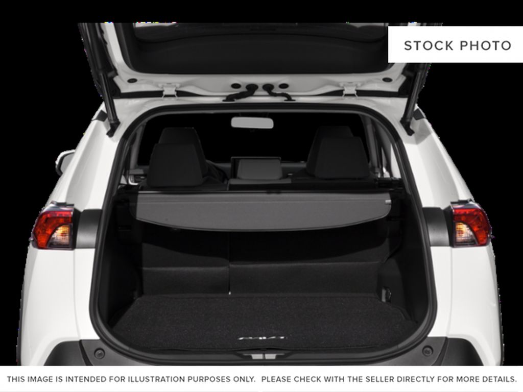 Gray[Magnetic Grey Metallic] 2021 Toyota RAV4 Trunk / Cargo Area Photo in Beverly Hills NU