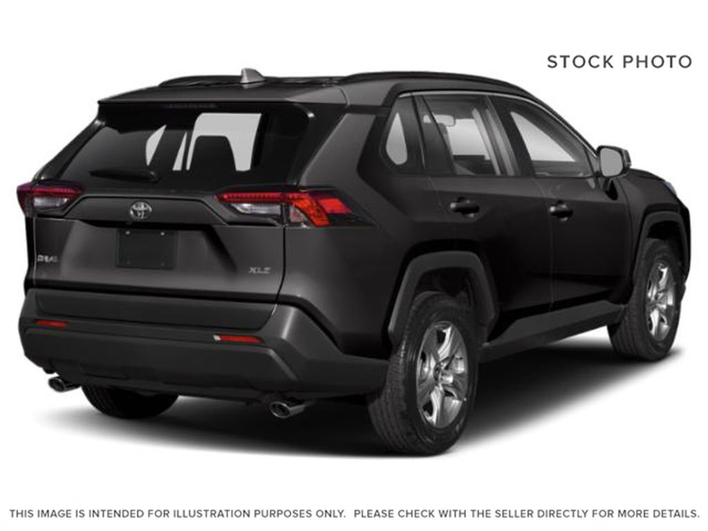 Gray[Magnetic Grey Metallic] 2021 Toyota RAV4 Right Rear Corner Photo in Beverly Hills NU
