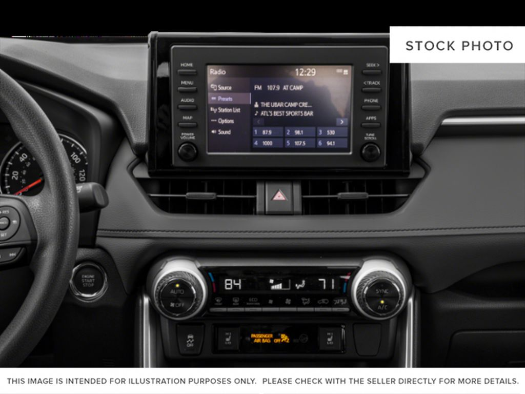 Gray[Magnetic Grey Metallic] 2021 Toyota RAV4 Audio/Video Photo in Beverly Hills NU