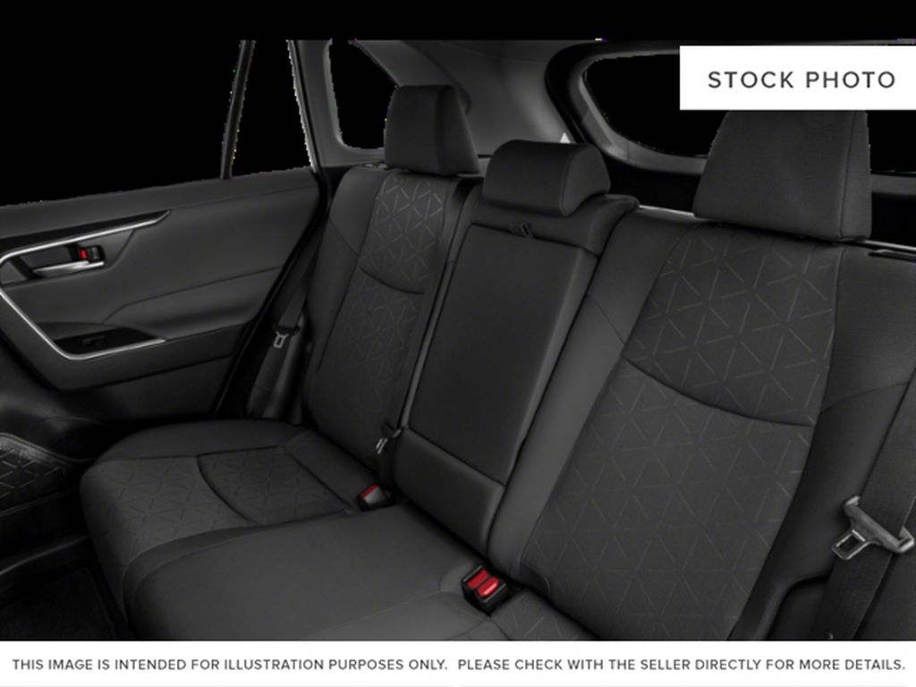 Gray[Magnetic Grey Metallic] 2021 Toyota RAV4 Rear Seat Photo in Beverly Hills NU