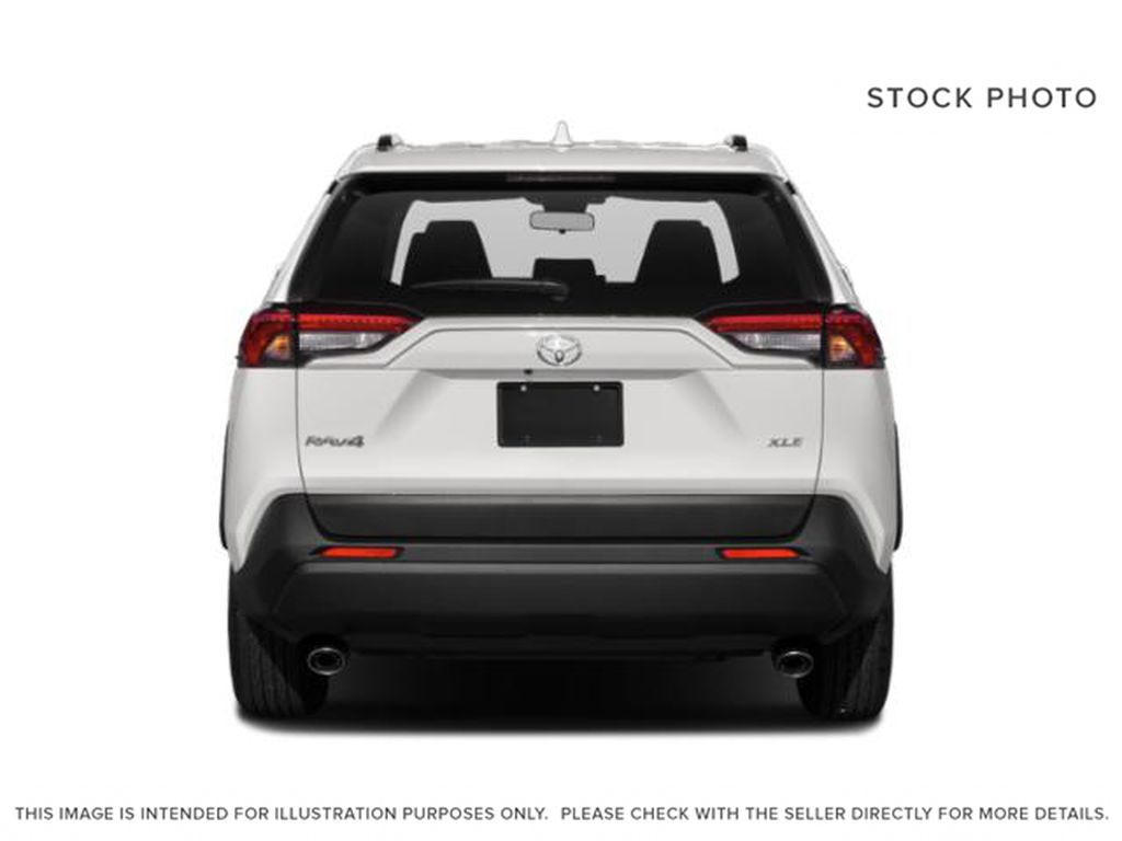 Gray[Magnetic Grey Metallic] 2021 Toyota RAV4 Rear of Vehicle Photo in Beverly Hills NU