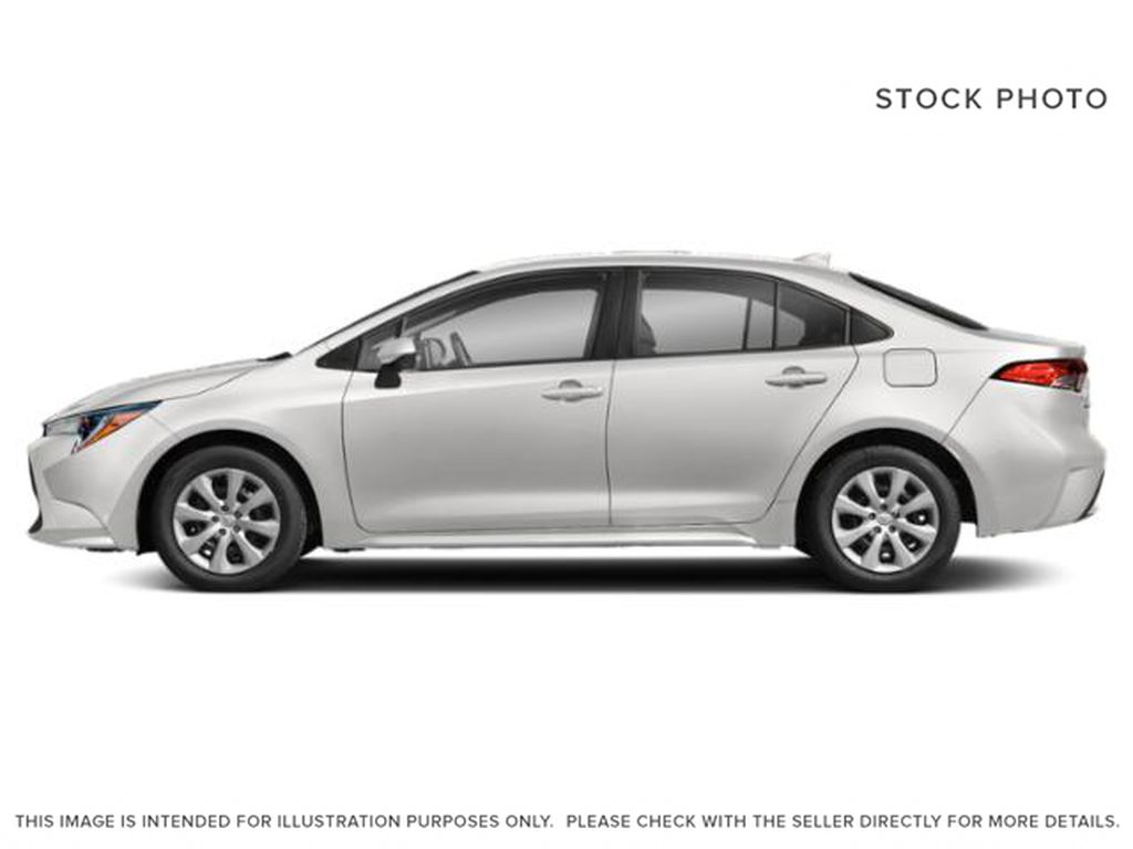 White[Super White] 2021 Toyota Corolla Left Side Photo in Beverly Hills NU