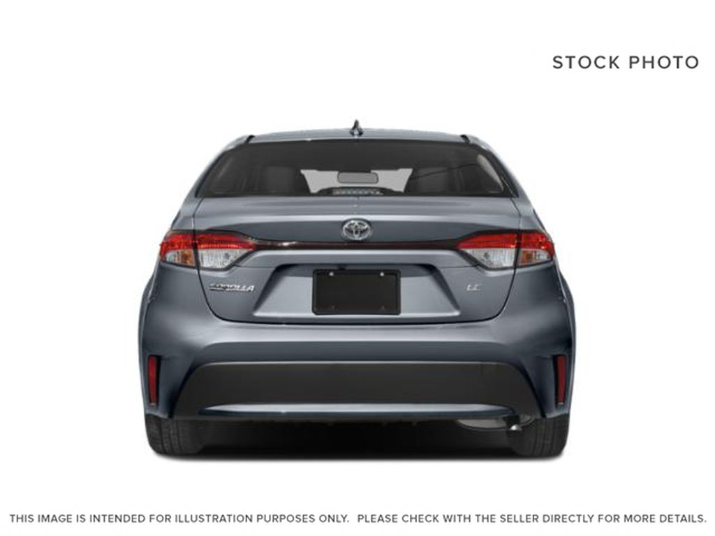 White[Super White] 2021 Toyota Corolla Rear of Vehicle Photo in Beverly Hills NU