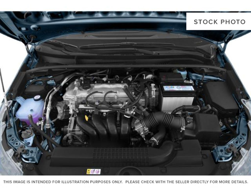 White[Super White] 2021 Toyota Corolla Engine Compartment Photo in Beverly Hills NU