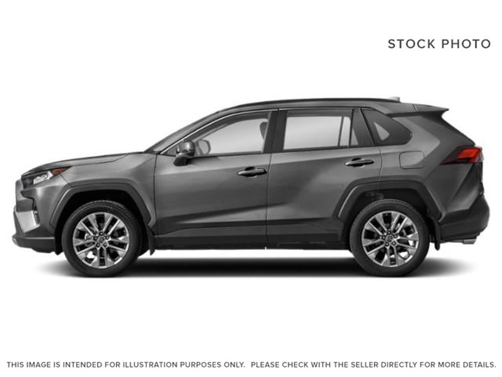 Silver[Silver Sky Metallic] 2021 Toyota RAV4 Left Side Photo in Beverly Hills NU