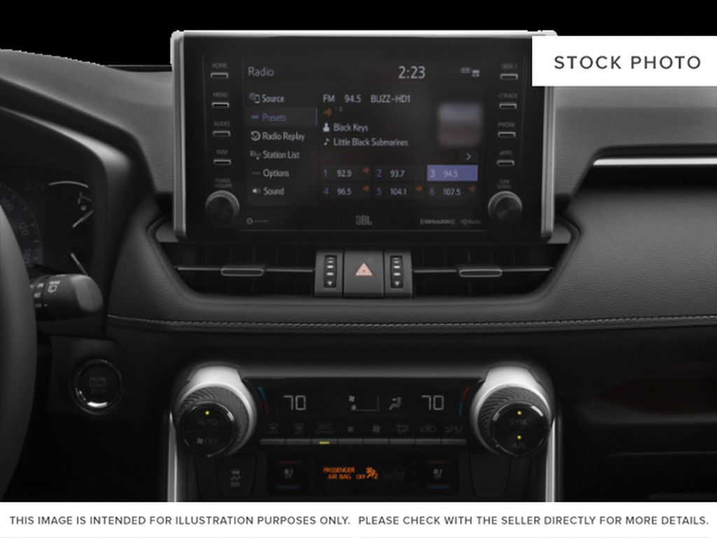 Silver[Silver Sky Metallic] 2021 Toyota RAV4 Audio/Video Photo in Beverly Hills NU