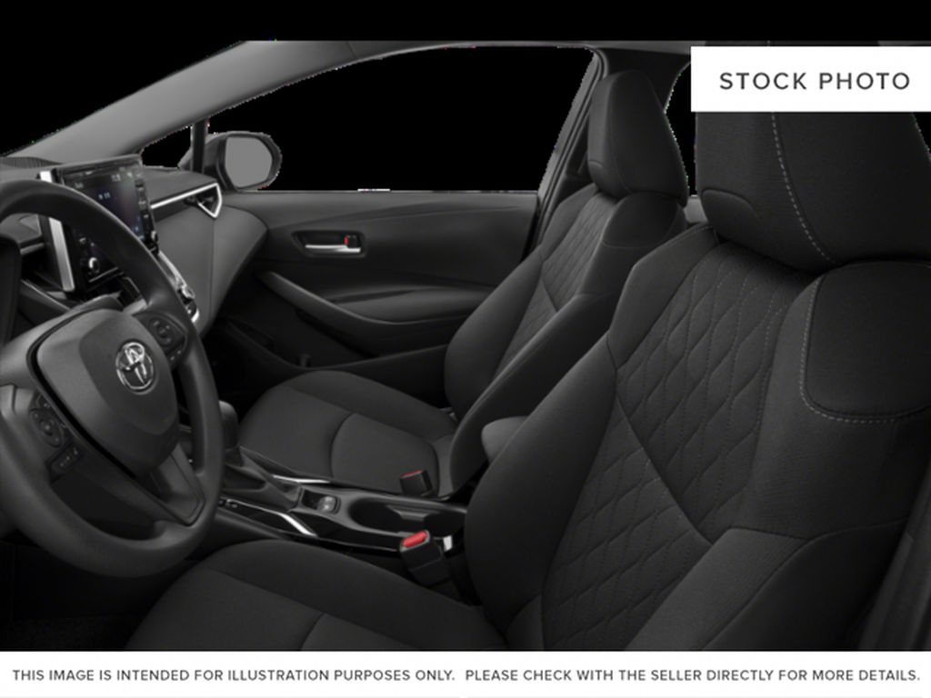Silver[Celestite] 2021 Toyota Corolla Left Front Interior Photo in Beverly Hills NU