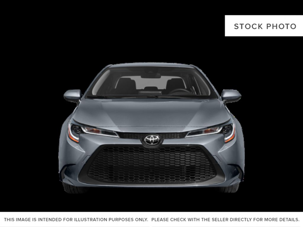 Silver[Celestite] 2021 Toyota Corolla Front Vehicle Photo in Beverly Hills NU