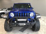 Blue 2020 Jeep Wrangler Unlimited w/ Winch & 3-Inch Lift Odometer Photo in Edmonton AB