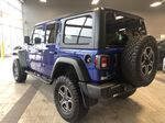 Blue 2020 Jeep Wrangler Unlimited w/ Winch & 3-Inch Lift Trunk / Cargo Area Photo in Edmonton AB