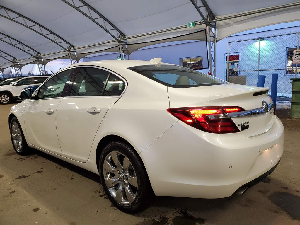 2015 Buick Regal Strng Wheel/Dash Photo: Frm Rear in Airdrie AB
