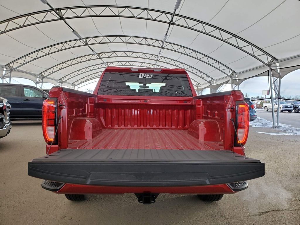 Red 2021 GMC Sierra 1500 Strng Wheel/Dash Photo: Frm Rear in Airdrie AB