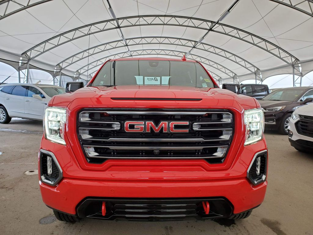 Red 2021 GMC Sierra 1500 Left Front Corner Photo in Airdrie AB