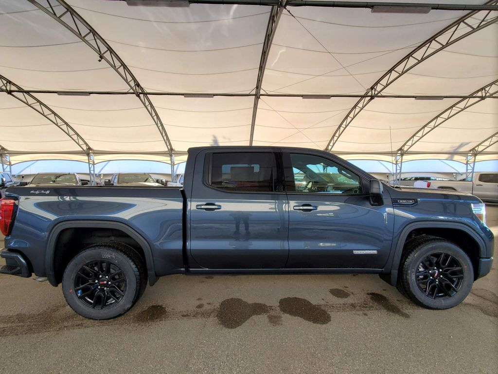 Grey 2021 GMC Sierra 1500 Rear of Vehicle Photo in Airdrie AB