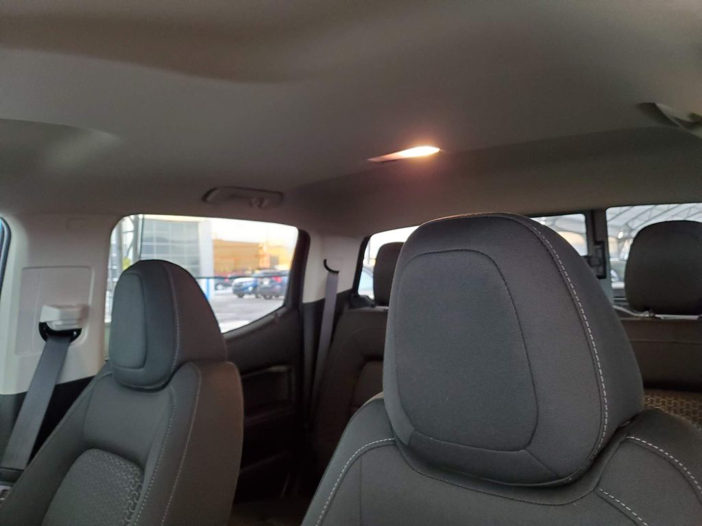 Black 2021 GMC Canyon Left Front Interior Door Panel Photo in Airdrie AB
