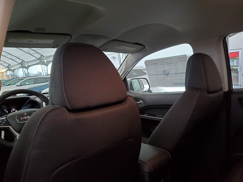 Black 2021 GMC Canyon Center Console Photo in Airdrie AB