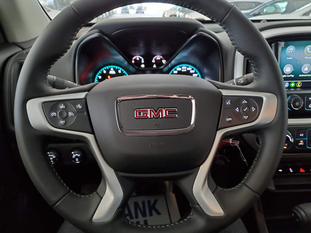 Black 2021 GMC Canyon Front Vehicle Photo in Airdrie AB