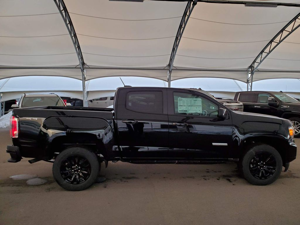 Black 2021 GMC Canyon Rear of Vehicle Photo in Airdrie AB