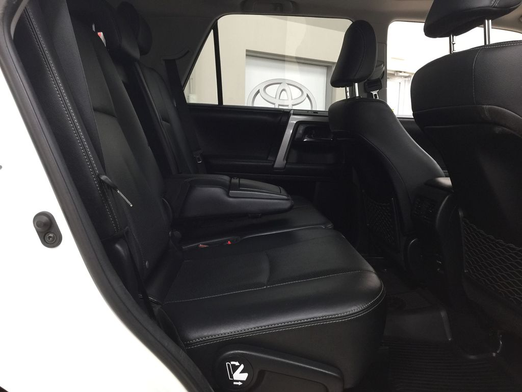 White[Alpine White] 2018 Toyota 4Runner LIMITED - 7 PASSENGER Right Side Rear Seat  Photo in Sherwood Park AB