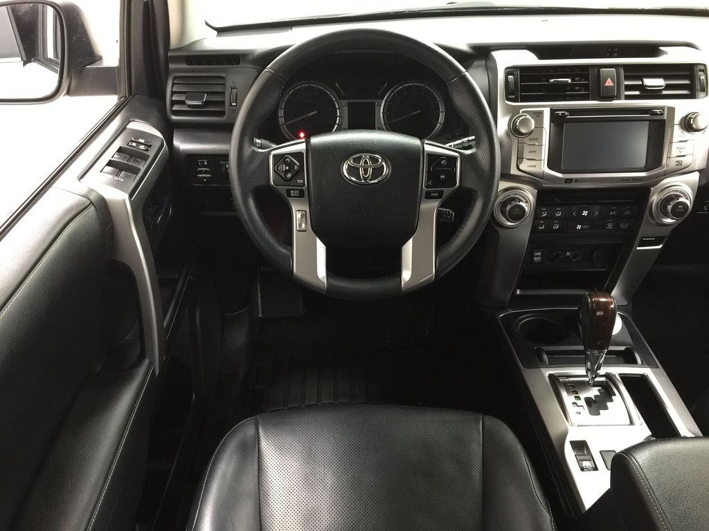 White[Alpine White] 2018 Toyota 4Runner LIMITED - 7 PASSENGER Left Front Seat Photo in Sherwood Park AB