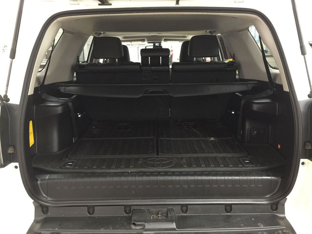 White[Alpine White] 2018 Toyota 4Runner LIMITED - 7 PASSENGER Cargo Area/Rear Seats Photo in Sherwood Park AB