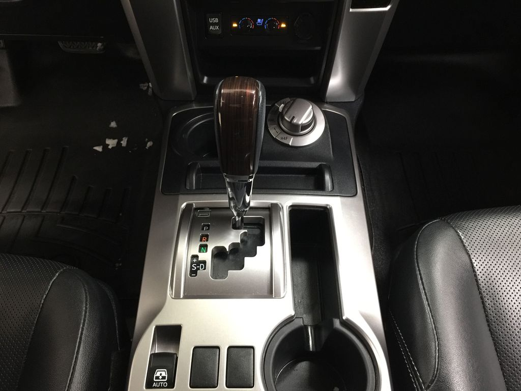 White[Alpine White] 2018 Toyota 4Runner LIMITED - 7 PASSENGER Lower Dash Photo in Sherwood Park AB