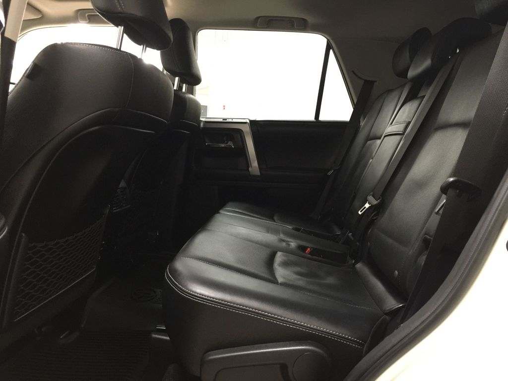 White[Alpine White] 2018 Toyota 4Runner LIMITED - 7 PASSENGER Left Side Rear Seat  Photo in Sherwood Park AB