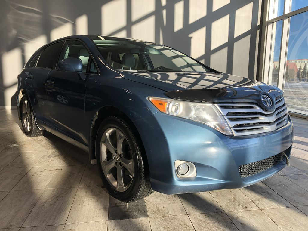 Blue 2011 Toyota Venza 4DR WGN V6 AWD Left Front Interior Photo in Edmonton AB