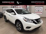 White[Pearl White] 2018 Nissan Murano PLATINUM / NO ACCIDENTS Primary Listing Photo in Sherwood Park AB